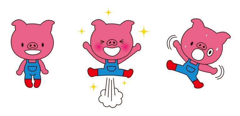 映画薔薇色のブー子宣伝キャラクター