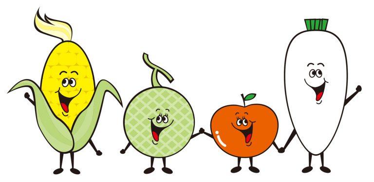野菜キャラクター